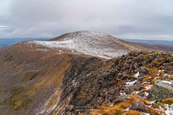 Photo of Snow (and blustery wind) on Cairngorm on 22nd October 2019