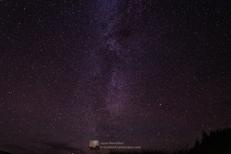 The Milky Way in the Assynt sky