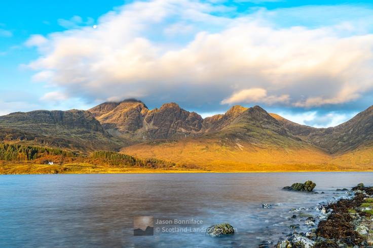 Morning - Bla Bheinn and Loch Slapin, Skye