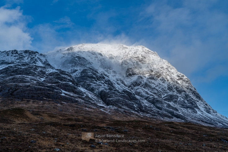 The eastern face of Stob Dearg, Buachaille Etive Mor