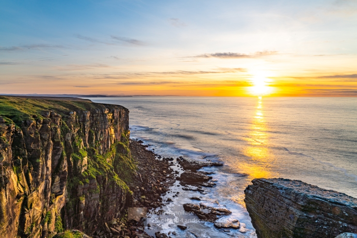 The North Coast at Sunset from Dunnet Head, Caithness