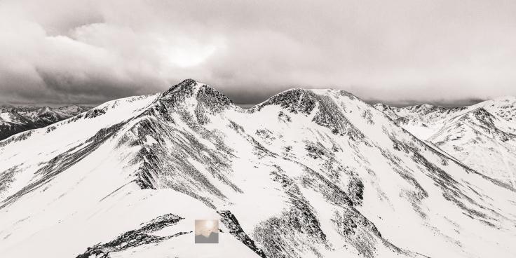 The Fine Twin Peaks of Na Gruagaichean, Lochaber