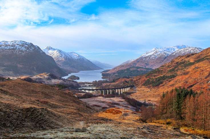 Glenfinnan Viaduct and Loch Shiel