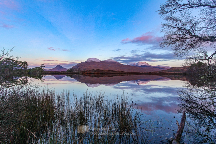 First Sunlight on Cul Mor, Assynt & Ullapool