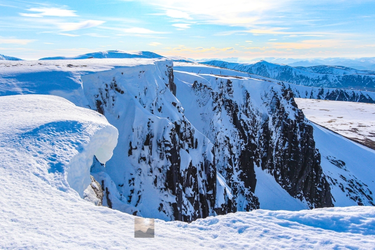 Winter Crags, Cairn Lochan, Cairngorm